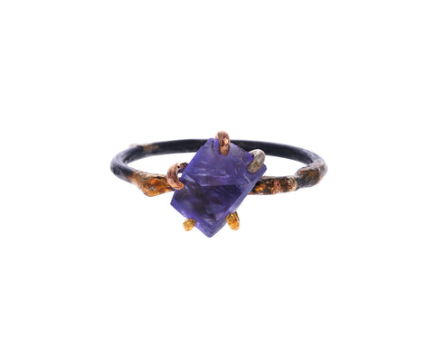 Tanzanite Claw Ring