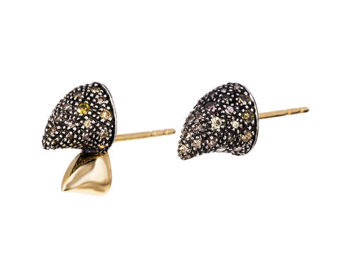 Diamond Rhino Earrings - TWISTonline