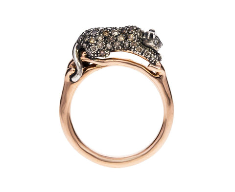 Diamond Panther Ring - TWISTonline