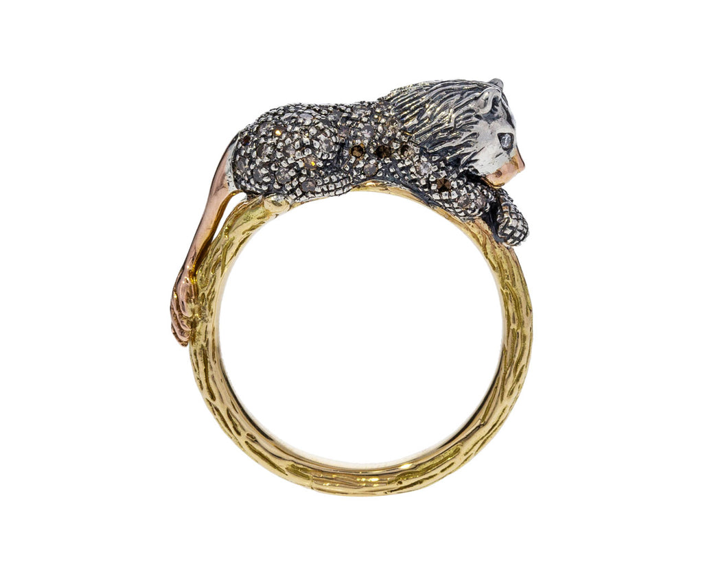 Diamond Lion Ring - TWISTonline