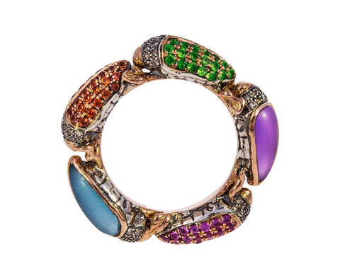 Scarab Eternity Ring - TWISTonline