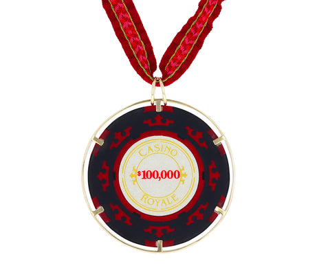 Money Go Round Casino Royale Pendant Necklace