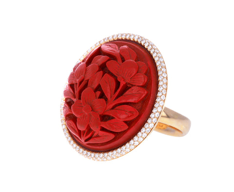 Red Lantern and Diamond Ring