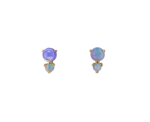 Opal Francesca Stud Earrings