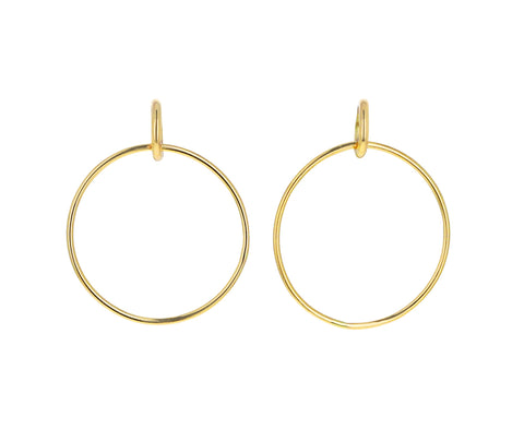 Large Vita Hoop Earrings