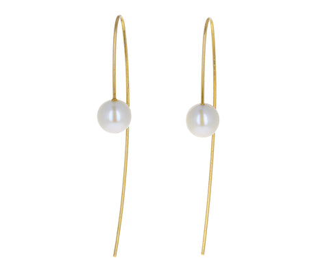Pearl Nova Hook Earrings