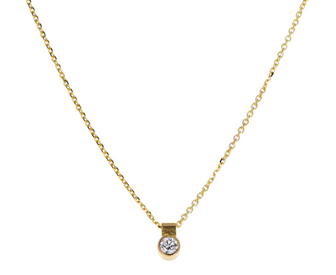 Solo Diamond Necklace