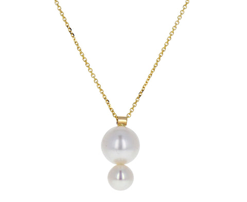 Pila Double Pearl Necklace