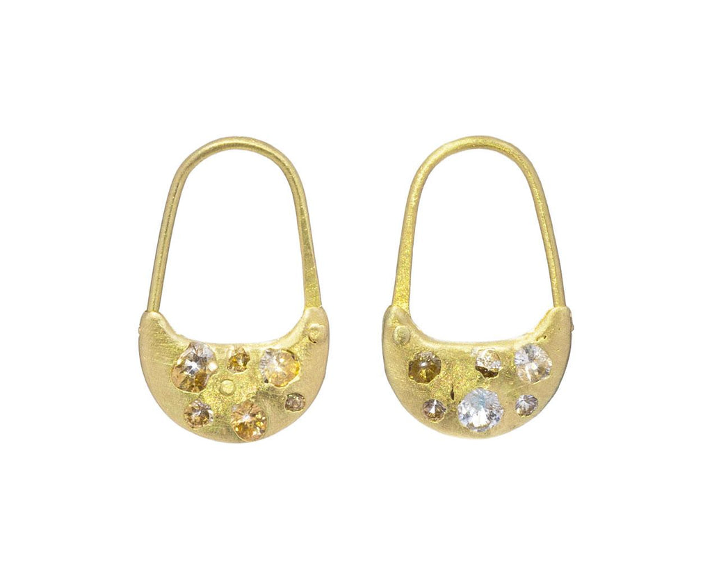 Celeste Safety Pin Earrings - TWISTonline