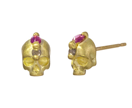 Island of Shrines Skull Earrings - TWISTonline