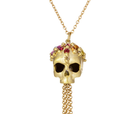 Enchanted City Skull Pendant Necklace - TWISTonline