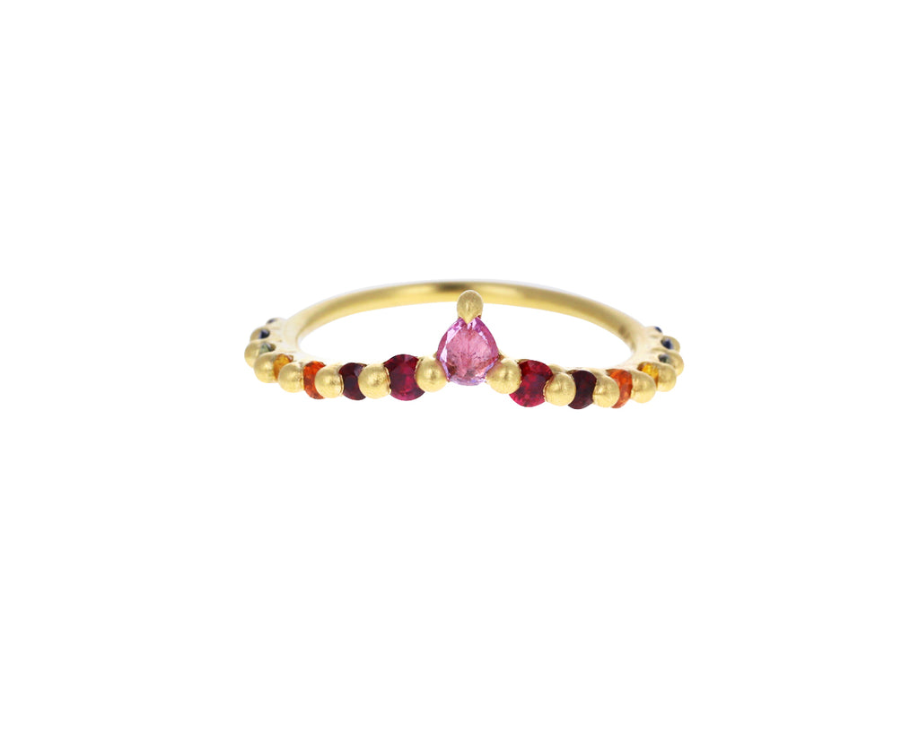 Pink Sapphire Fade V Band