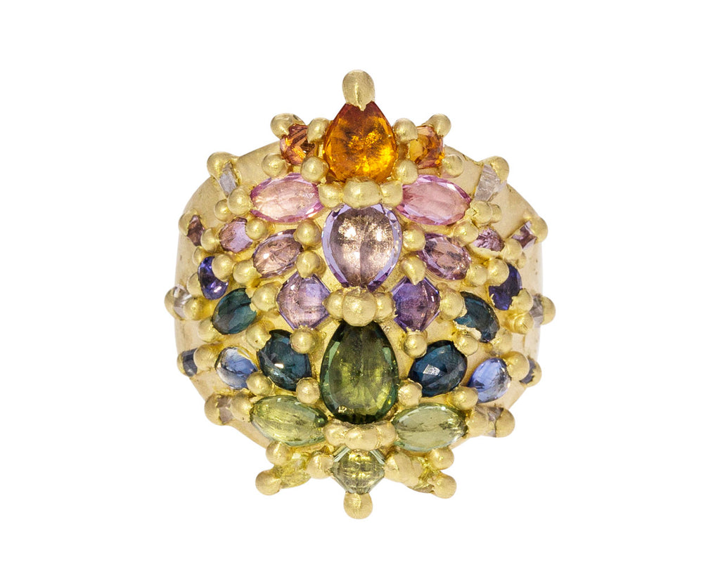 Blossom Crush Empress Shield Ring - TWISTonline