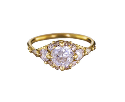 Diamond Solitaire Halo Ring - TWISTonline