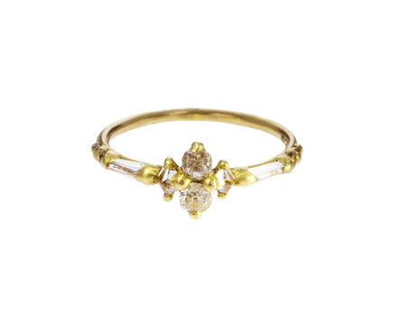 Stacked Diamond Halo Ring - TWISTonline