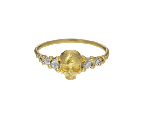 Diamond Island of Shrines Skull Ring - TWISTonline