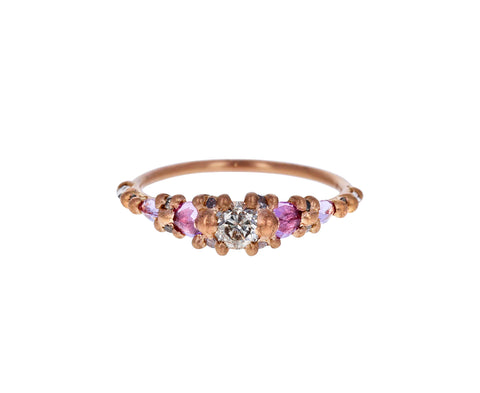 Marietta Stellar Halo Diamond Ring - TWISTonline