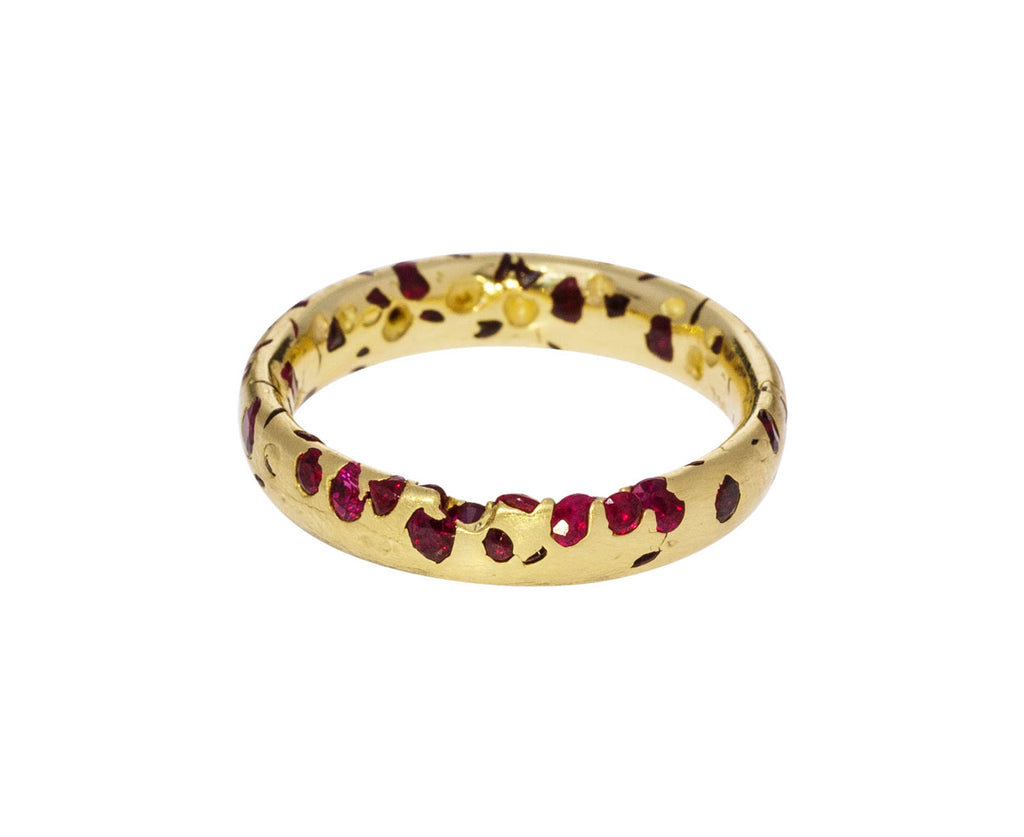Ruby Confetti Ring