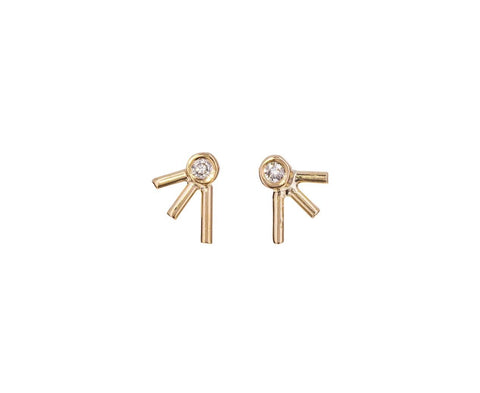 Dot Dot Diamond Earrings - TWISTonline
