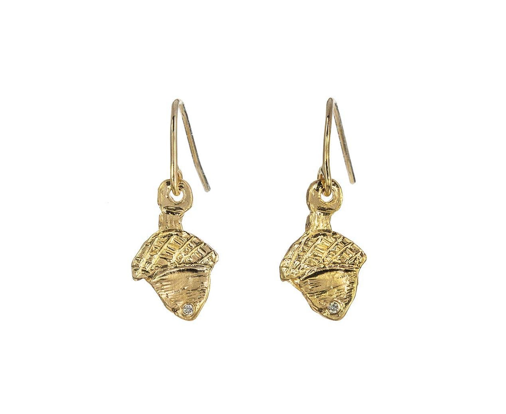 Diamond Acorn Earrings zoom 1_xiao_wang_ice_cream_candy_gold_diamond_acorn_ear