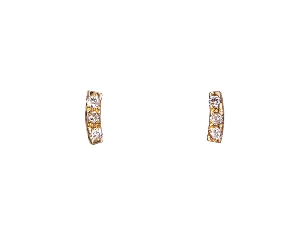 Diamond Gravity Earrings - TWISTonline