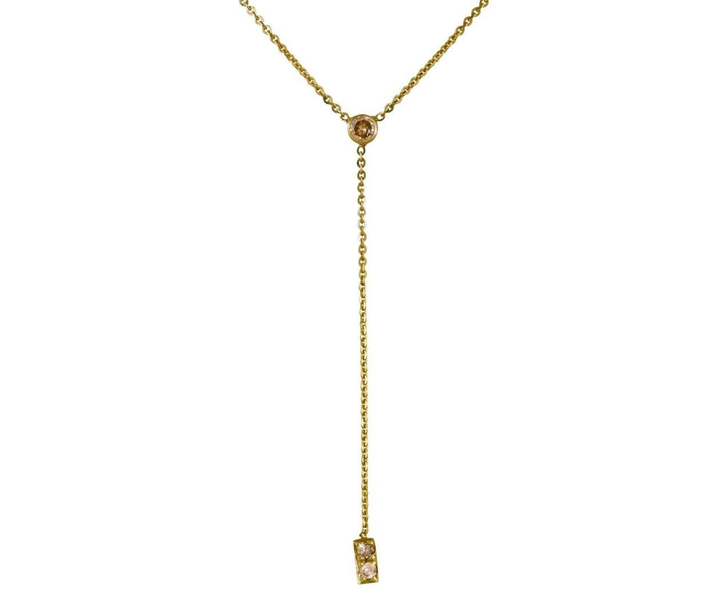 Diamond Gravity Chain Necklace - TWISTonline
