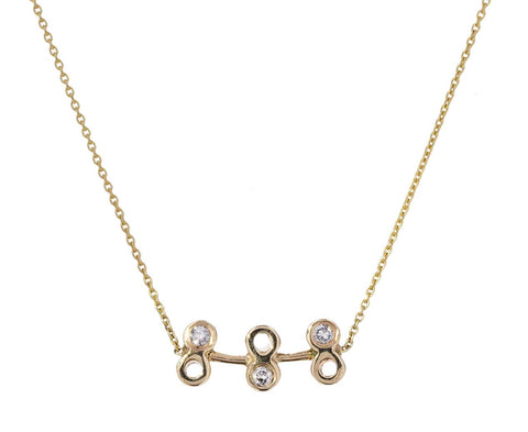 Dot Dot Bar Pendant Necklace - TWISTonline