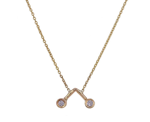 Diamond Dot Dot Necklace - TWISTonline