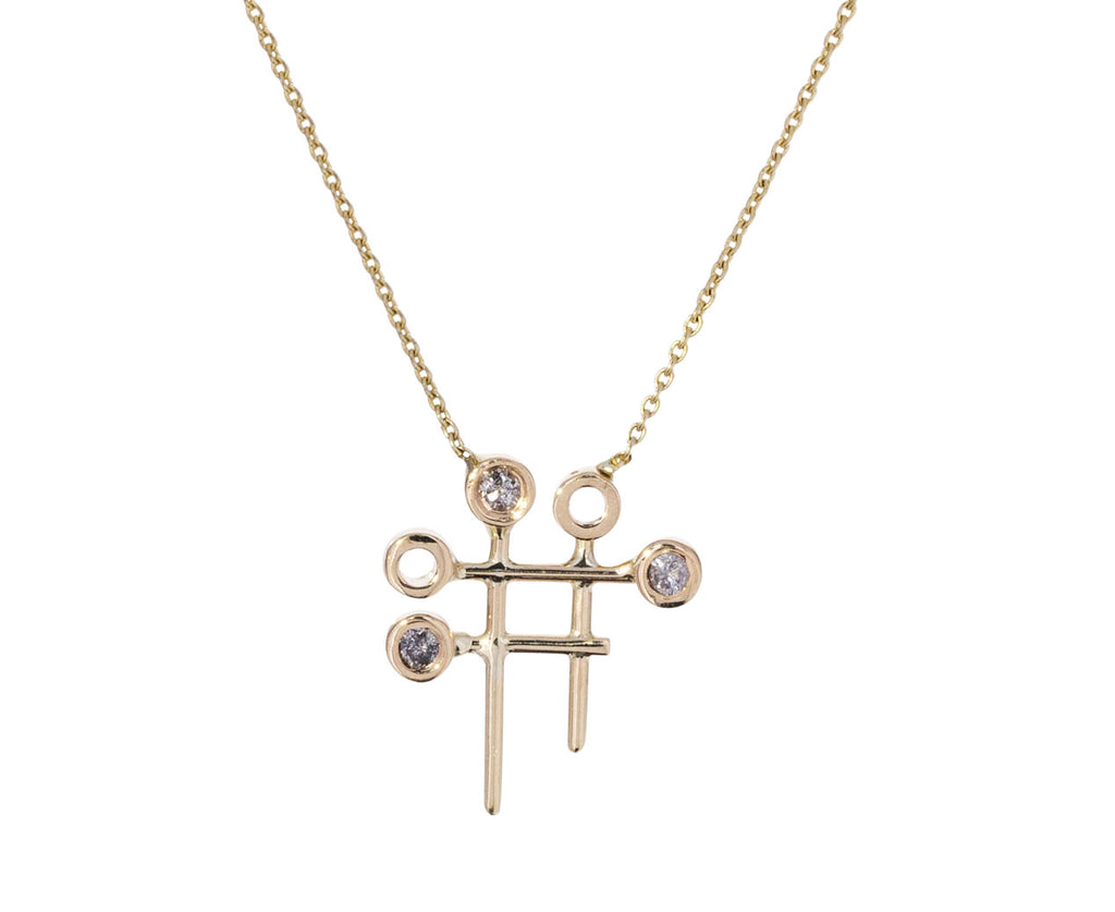 Dot Dot Grid Necklace - TWISTonline