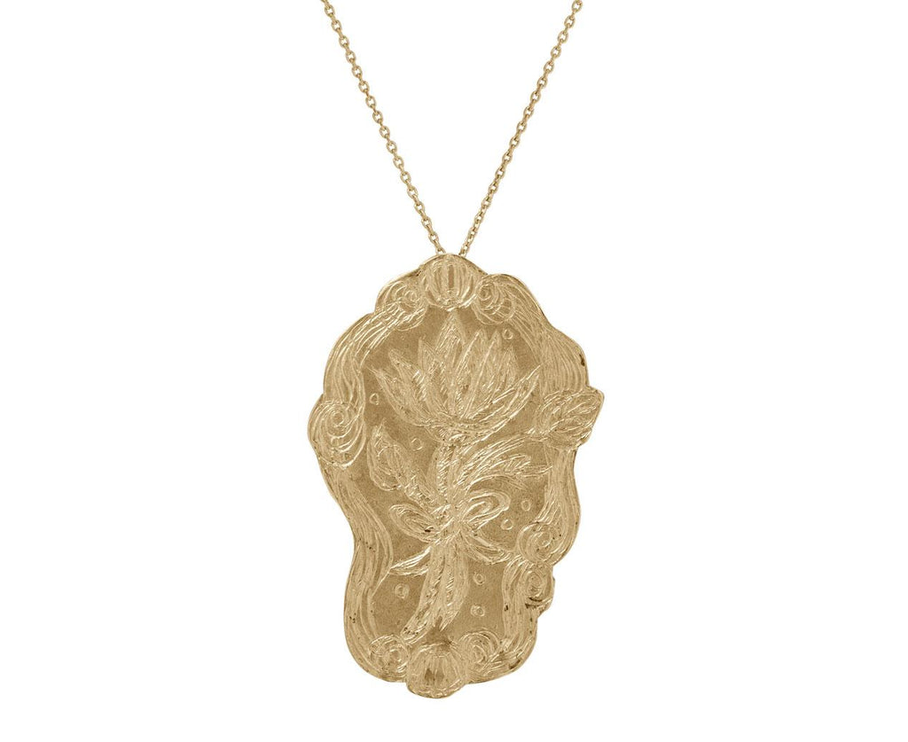 Lotus Ocean Wave Pendant Necklace - TWISTonline