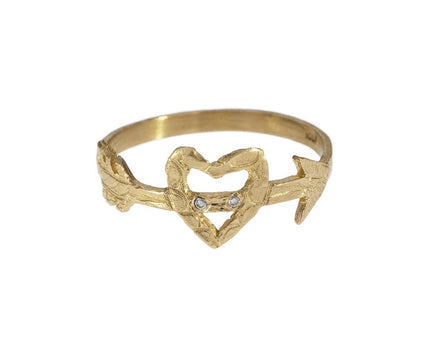 Heart and Arrow Ring - TWISTonline