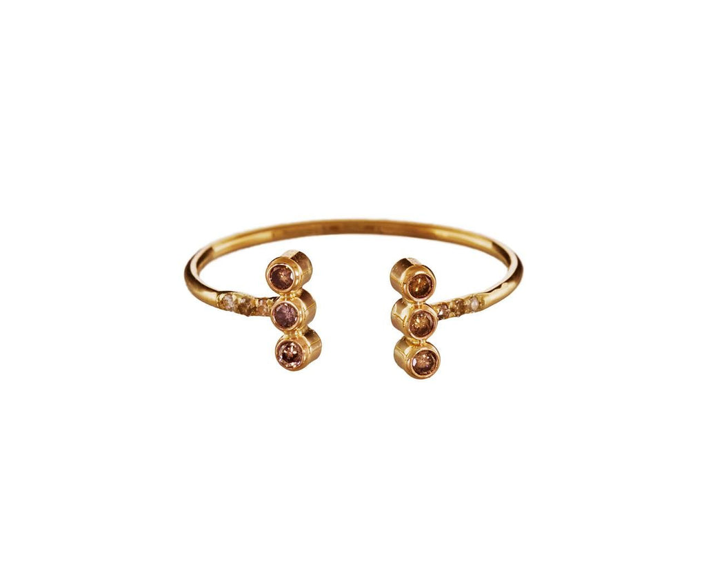Diamond Double Bar Ring - TWISTonline
