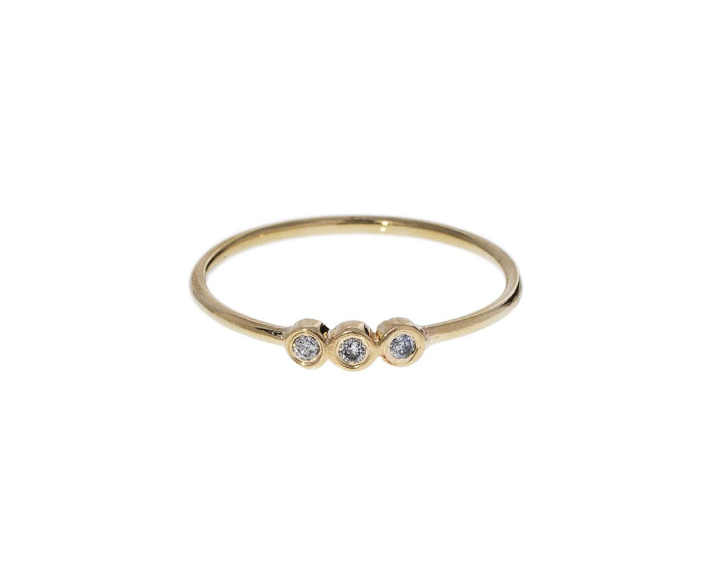 Three Diamond Dot Dot Ring zoom 1_xiao_wang_gold_diamond_dot_dot_ring