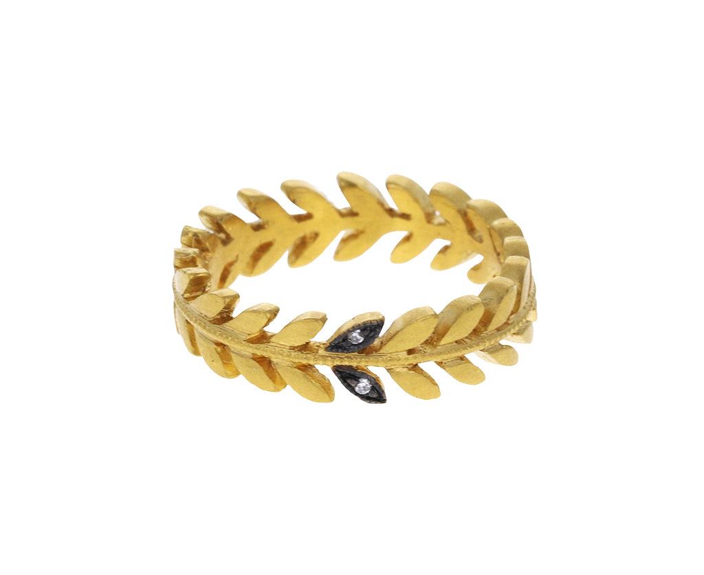 Gold Small Wheat Band