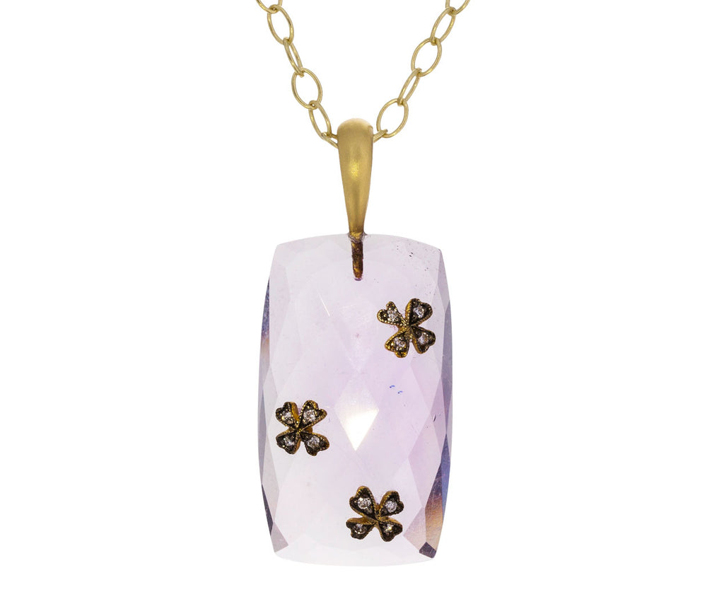 Amethyst Wildflower Pendant ONLY