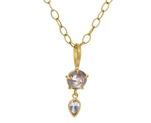 Rustic Diamond Charm Pendant ONLY - TWISTonline