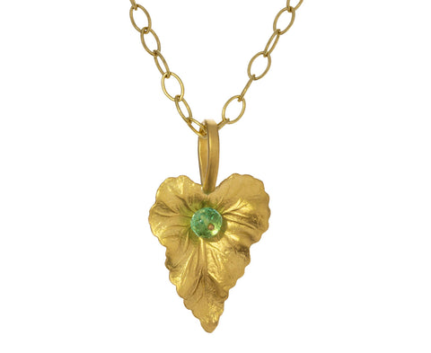 Emerald Leaf Charm ONLY - TWISTonline
