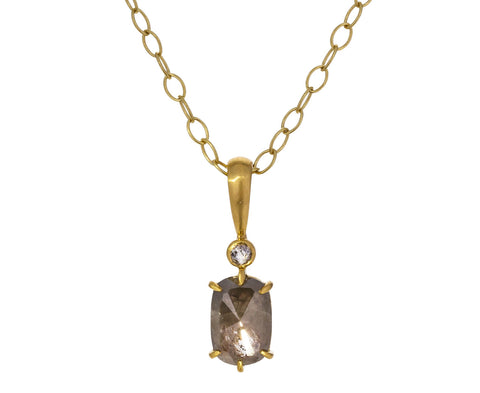 Rustic Diamond Pendant ONLY