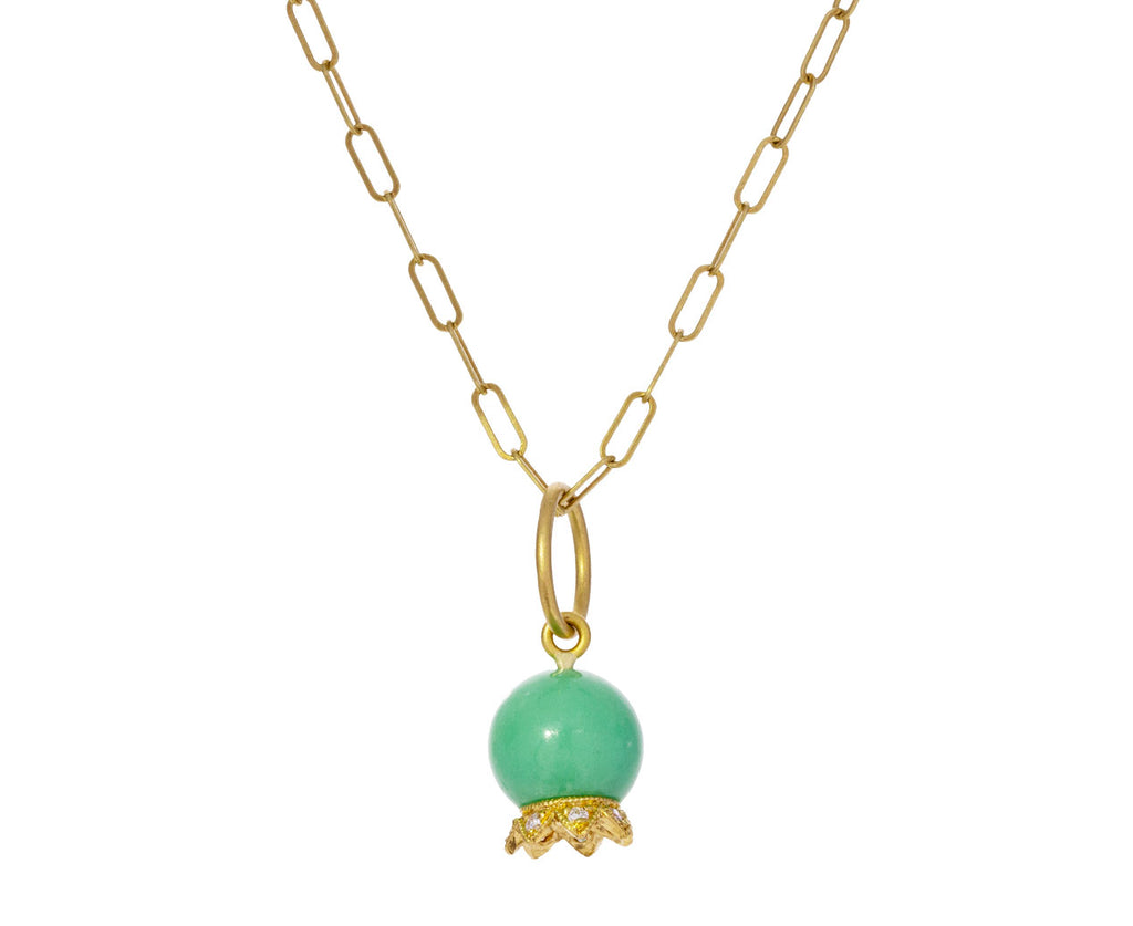 Chrysoprase Lily of the Valley Pendant ONLY