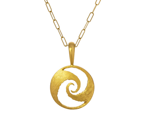 Mystery of Life and Death Spiral Charm ONLY