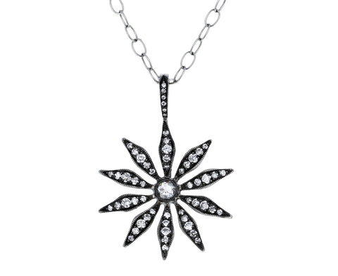 Diamond Spider Flower Pendant ONLY - TWISTonline