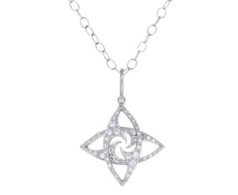 Diamond Friendship Charm Pendant ONLY
