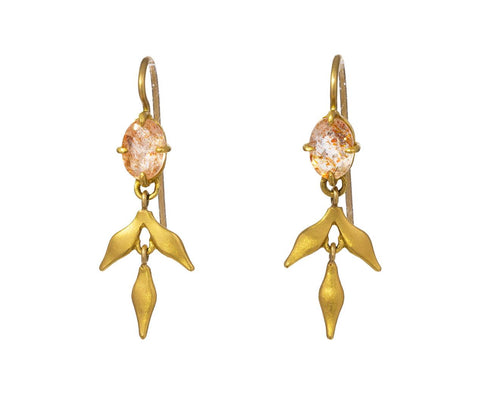 Sunstone Lyrical Wheat Earrings - TWISTonline