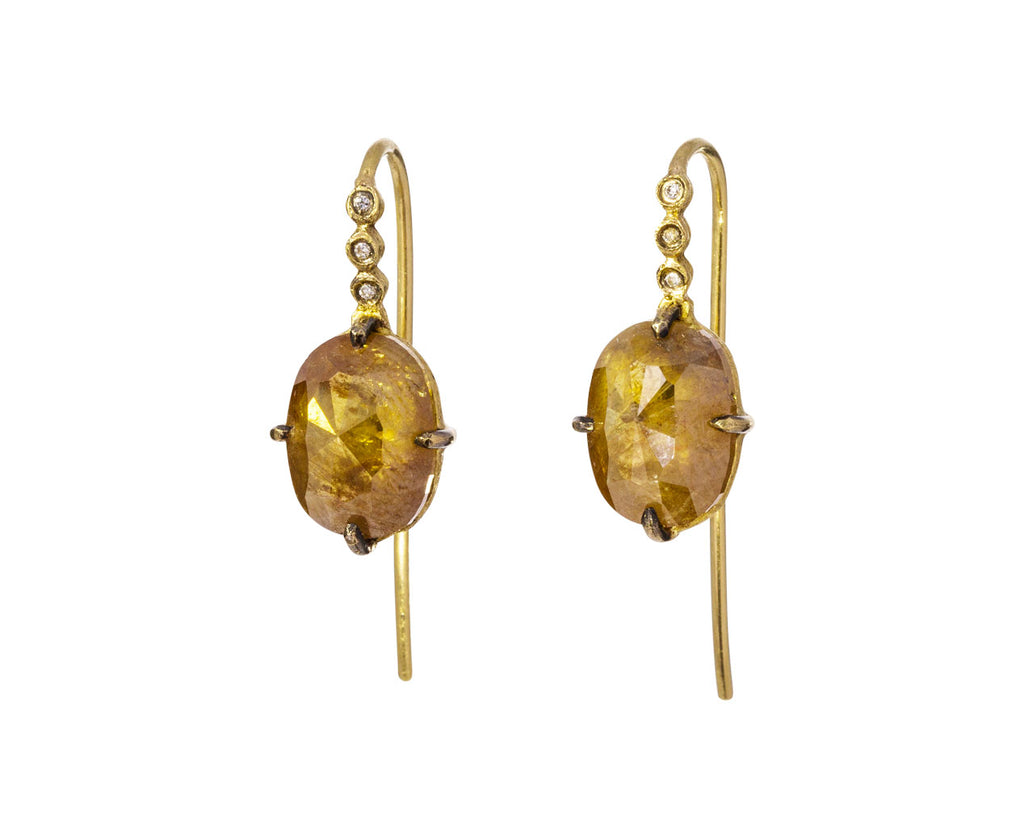 Rustic Diamond Earrings - TWISTonline
