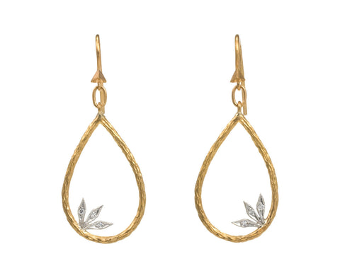 Leafed Branch Earrings - TWISTonline