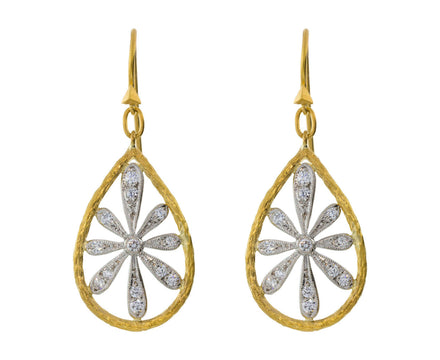 Pear Flower Earrings - TWISTonline