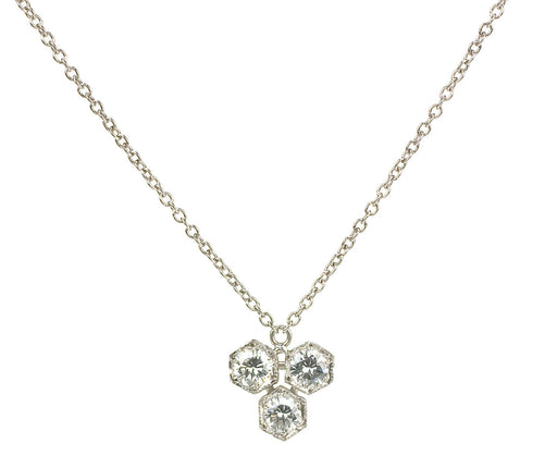Octagonal Diamond Necklace zoom 1