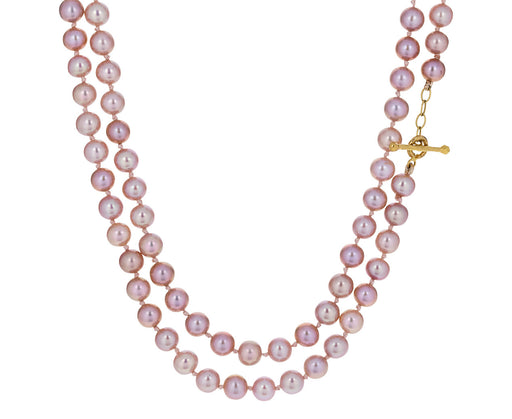 Pink Pearl Necklace - TWISTonline