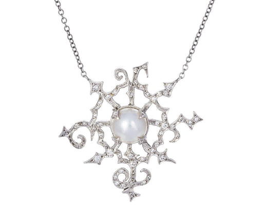 Pearl and Diamond Briar Patch Necklace - TWISTonline