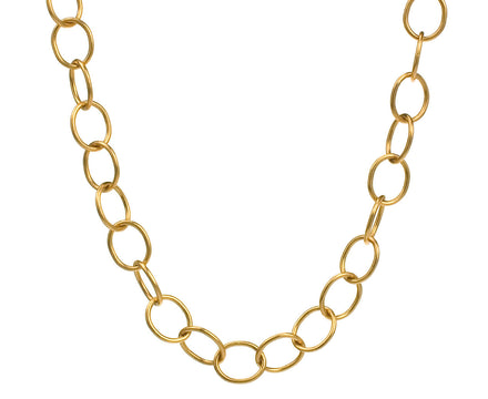 Gold Lacy Chain Necklace - TWISTonline